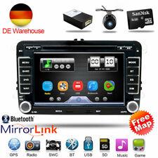 2 DIN Car Stereo Radio Sat Nav GPS DVD CD for VW Golf MK5 MK6 PASSAT B6 TOURAN