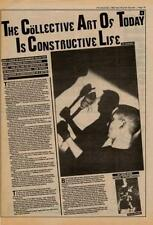 Test Dept Interview NME Cutting 1982
