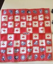 Vintage LITTLE TIKES Kitchen Food Play Set Tablecloth - Great Condition