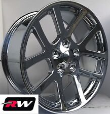 "Dodge Ram Wheels Ram 1500 SRT-10 Chrome Rims 20"" inch 20x9"" 5x139.7 5x5.50 +25.4"