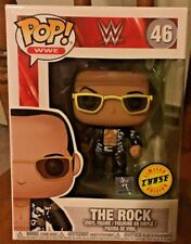 Funko Pop! #46 Wwe The Rock Old School Chase w/Protector!
