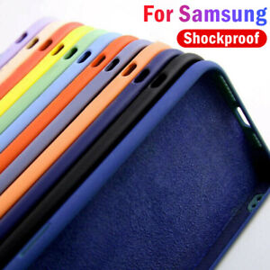 Shockproof Liquid Silicone Case Cover For Samsung S20 FE A21S A51 A71 S10/9 A70