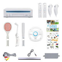 Nintendo Wii Mega Sport Set: Konsole in weiß inkl. 2 Nunchuk & Remote Controller