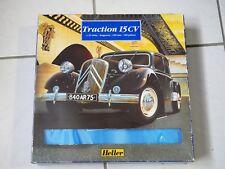 Rare boite collection maquette Heller Traction 15 CV 1/24 Ref 60763