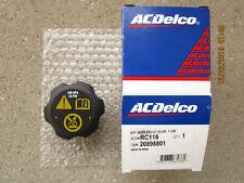 CADILLAC 20898801 ACDELCO RC-116 RADIATOR ENGINE COOLANT TANK FLUID CAP OEM NEW