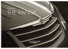 Chrysler 2006-07 UK Market Sales Brochure Voyager Crossfire PT Cruiser Sebring
