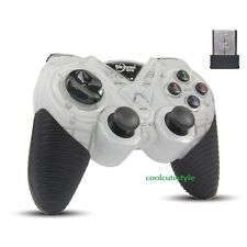 Wireless USB Game Controller Gamepad Joystick for PS3 Laptop PC 360 Game 2.4GHz