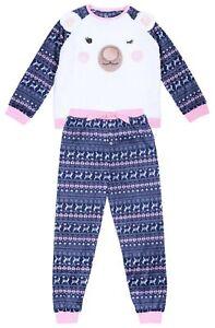 Warm & Soft Pyjama Set For Girls Teddy Bear Yound Dimension