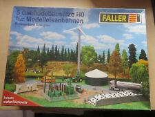 Faller HO 5 Gebäudebausätze für Modelleisenbahnen: Erneuerbare Energien