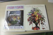 Flower Arranging, Passion For Flowers, (2 ) Books For Home Decor, Ideas