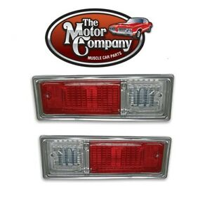 1968 1969 Nova Chevy II Tail Light Assembly Set Left & Right  ( In Stock )