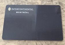 Intercontinental Montreal Hotel Room Key
