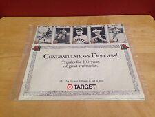 1890-1990 DODGERS 100 Years Of Memories Factory Sealed Portrait TARGET Set