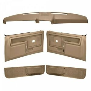Coverlay 12-108CF Light Brown For Ford Bronco Front Left Right Interior Kit