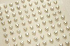 Perline sfuse di strass bianchi