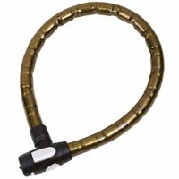 Oxford Motorcycle/Bike/Scooter Barrier Armoured Cable Lock - Smoke OF145