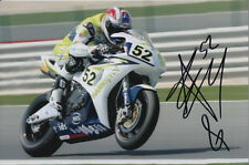 JAMES TOSELAND HAND SIGNED HANNSPREE HONDA 6X4 PHOTO 2.