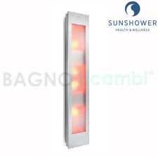 Lamp tanning bed and infrared natural Solarium Sunshower Combi