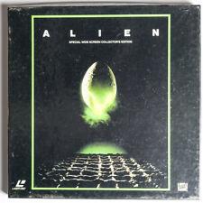 LaserDisc UK PAL Special Widescreen Collector's edition ALIEN