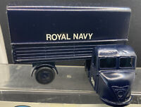 BUDGIE TOYS 702 ROYAL NAVY SCAMMELL SCARAB TRUCK NEAR MINT BOXED RARE BLUE  I847