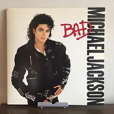 Bad by Michael Jackson 1987 Vinyl Epic Records 1st Press King of Pop MJ