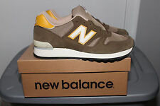 MEN'S NEW BALANCE MADE IN UK GREEN OLIVE 670 NIB SIZE 10 CLASSIC