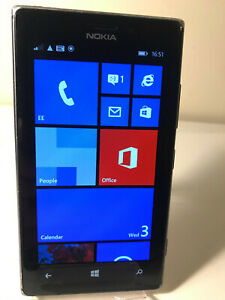 Nokia Lumia 925 - 16GB - Black / Grey (Unlocked) Smartphone Mobile