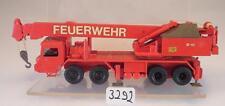 Preiser 1/87 Krupp 35 GMT Teleskopkran Feuerwehr #3292