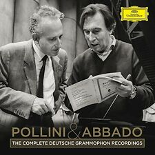 Pollini & Abbado - Complete Recordings on Deutsche Grammophon [New CD] Boxed Set