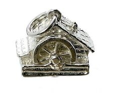 STERLING SILVER MOVABLE WELSH WATERMILL CHARM