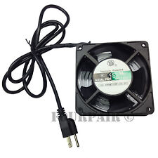 120mm DJ Rack Case Server AV IT Cabinet 110V Power Plug Metal Axial Cooling Fan