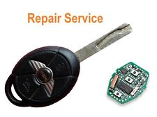 for Mini One Cooper S 3 button faulty alarm key fob REPAIR SERVICE