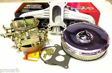 HOLDEN 6CYL 350 HOLLEY 2BBL + NEW AIR FILTER + NEW MANIFOLD CARB PACKAGE CARBY