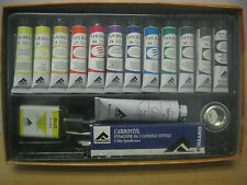 Ferrario Artist Quality Van Dyck Oil Color Paint Set ( Nice GIFT)