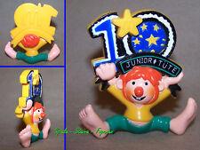 Pumuckl Figur mit Schild 10 Jahre Junior Tüte / 1998
