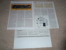 Tandberg 3012 Amplifier Review,3 pgs, 1983, Full Test