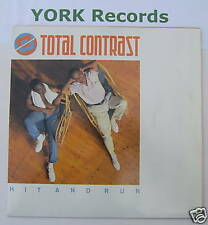 """TOTAL CONTRAST - Hit & Run - Excelelnt Con 7"""" Single"""