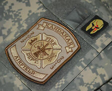 ELITE FIREFIGHTER PROFESSIONALS KANDAHAR AIRFIELD CRASH/RESCURE 2012-13 VELCRO A