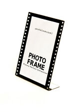 acrylic 4 x 6 sign display holder picture frame hollywood film frame 4x6