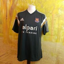 West Ham United Football Club 2013 grey adidas Alpari Third Shirt. UK men's XL