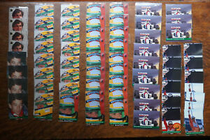 95x Ayrton Senna Grid Rookie Card Motorsport 1992 #101 RC Formula 1 One 34