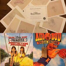 Lot of 3 Disney Snow White 8 Lithographs Original Animation Drawing Ltd Edition