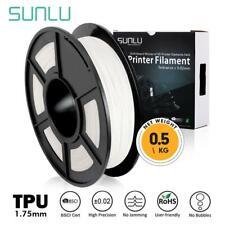 Sunlu TPU flexible 3D Impresora Filamento 1.75mm 0.5KG/1.1lb Carrete