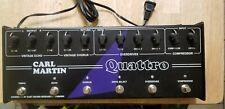 Carl Martin Quattro - Analog multi-effects pedal