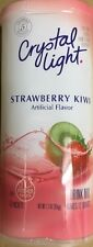 Crystal Light Strawberry Kiwi Drink Mix 65g makes 12 Quarts (PITCHER PACKS)