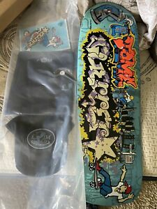 Signed Lance Mountain x Tommy Guerrero Time Capsule Skateboard Deck, #60 of 100