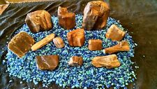 Petrified Wood Aquarium Decor Natural Rock Agate Quartz (aqr3)