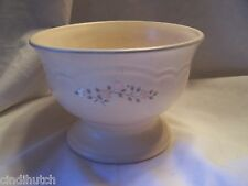 Pfaltzgraff REMEMBRANCE #180 Pedastal Footed Compote Candy Bowl USA Castle 1+++