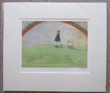 Sam Toft, Stumbling Over Four Leaved Clover Signed Mounted Limited Edition Print