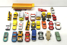 24+ pc Majorette Die Cast Car Truck Lot Construction+Racing+Delivery Made France